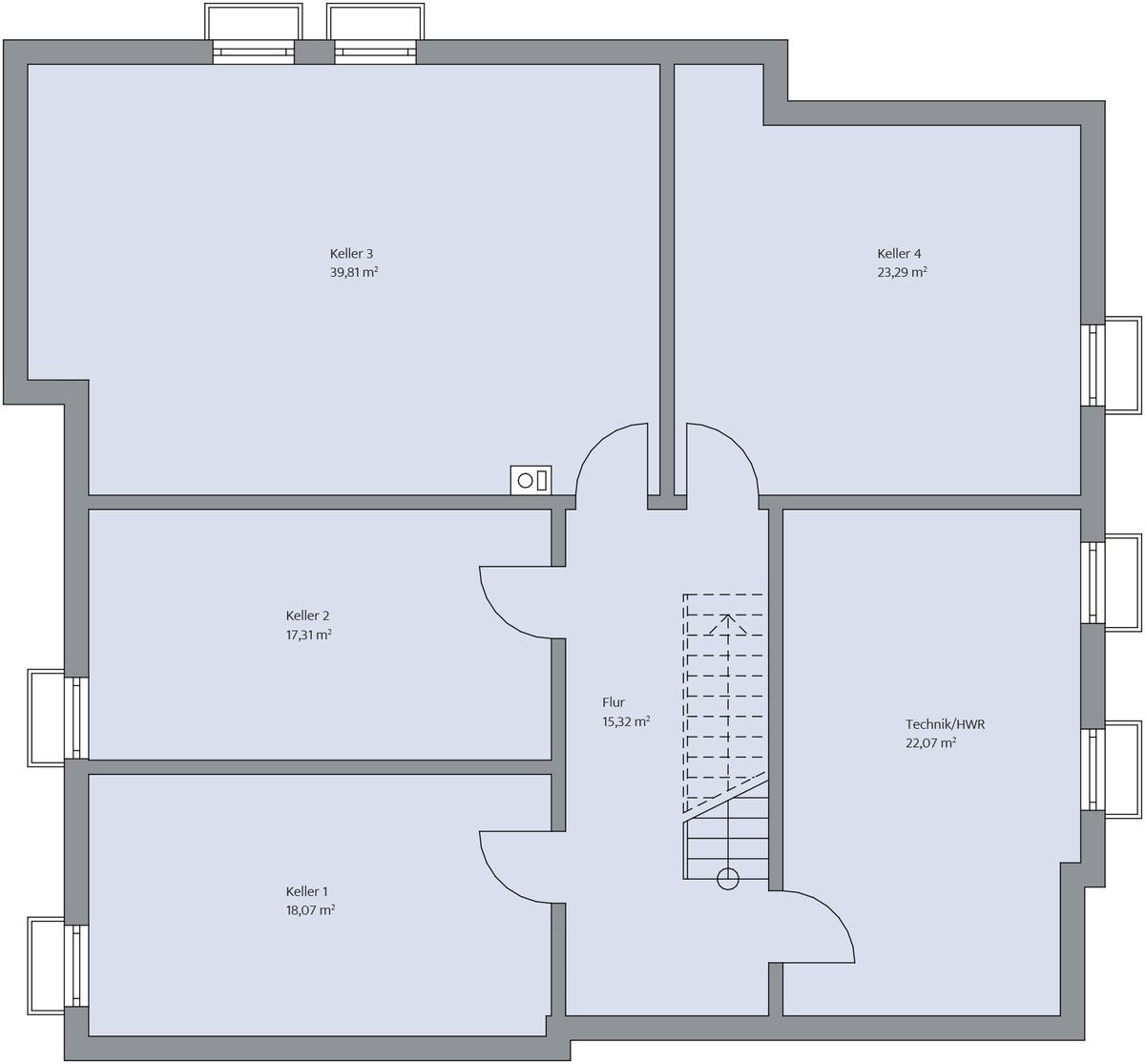 Haus-Toepfer_Grundriss_KG_bemasst_col19